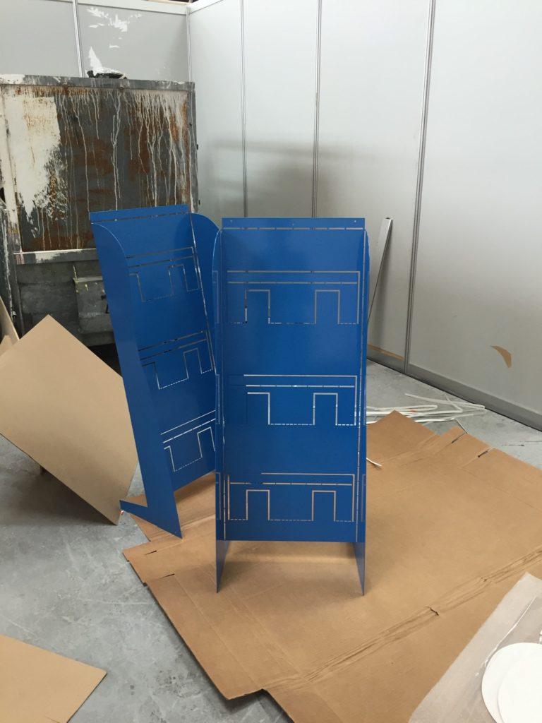 The A Model parts.